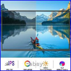 17.3 Inch Portable Monitor, USB C Gaming Monitor 100% sRGB FHD IPS HDR 1920x1080