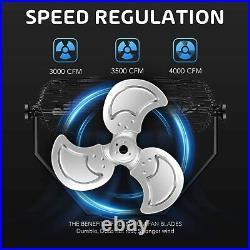 2PACK Simple Deluxe 18'' Industrial Wall Mount Fan 3Speed Ventilation Metal Fan