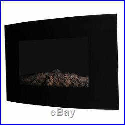 35 XL Large 1500W Adjustable Electric Wall Mount Fireplace Heater WithRemote New