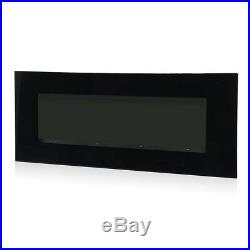 39 Wall Mount Electric Fireplace Heater Adjustable Backlight Freestanding Warm