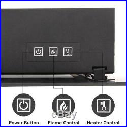 42 1400W Electric Fireplace Wall Mounted Heater Remote Christmas Thanksgiving