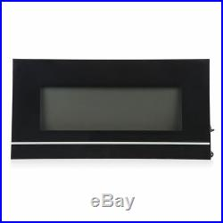 50 Wall Mounted Electric Fireplace Heat Adjustable Heater with Remote Control
