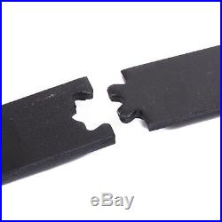 6 FT Carbon Steel Sliding Barn Door Hardware Track Rail Kit Wall Mount Black
