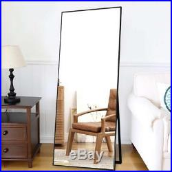 65X22 Floor Mirror Standing Wall-Mounted Mirror Dressing Mirror Frame Mirrors