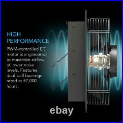 AIRLIFT S12 Shutter Exhaust Wall Mount-Fan 12 Attic, Shed, Workshop, Greenhouse