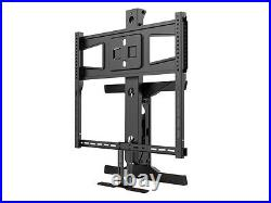 Above Fireplace Pull Down Full Motion Sony TV Wall Mount 43 50 52 55 60 70