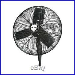 Air King 99539 24 1/4 HP Quiet Oscillating Industrial Grade Wall Mount Fan