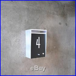 BOX DESIGN Wall Mount Modern Mailbox (NEW)