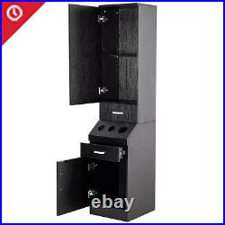 Beauty Salon Equipment Wall Mount Barber Station Hair Styling Drawer Storage