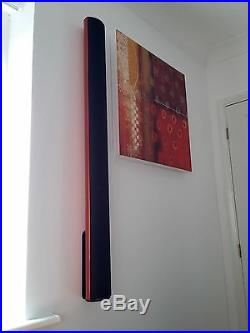 BeoLab 6000 / 6002 Wall Brackets/Mounts for Bang & Olufsen B&O (Pair, Black, HQ)