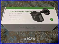 Blink XT Smart Home Security Camera System 3-Pack with Wall-Mounted Brackets NR