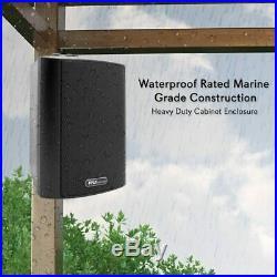 Bluetooth 4 200w Waterproof Wall Mount Speakers Indoor Outdoor Speaker System