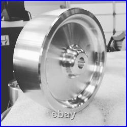 Complete Belt Knife Grinder Wheel Set, 6 Drive 5/8, 4 Tracking, 2 Idler Wheels