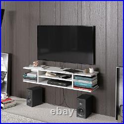Decorotika Pivot Floating TV Stand Cabinet TV Unit Multimedia Storage Wall Mount