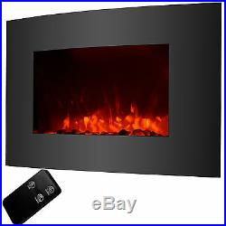 Electric Fireplace Wall Mount & Standing 1500W withRemote Adjustable Heater