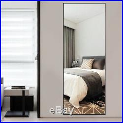 Floor Mirror Standing Full Length Wall Mounted Framed Bedroom Living Bathroom