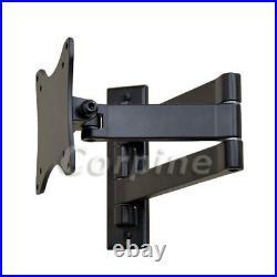 Full Motion TV Monitor Wall Mount for VIZIO 19 22 23 24 28 29 LED LCD Tilt M04