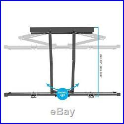 Full Motion TV Wall Mount Bracket Tilt Swivel Rotate 60 65 70 80 90 100 LCD LED