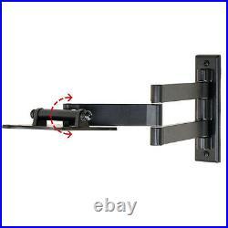 Full Motion TV Wall Mount for VIZIO 19 22 23 24 26 28 29 LED LCD Tilt Swivel C7B
