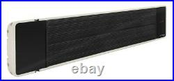 IRD 1200 Black Tinted Infrared Radiant Wall Ceiling Mounted Patio Heater 1200