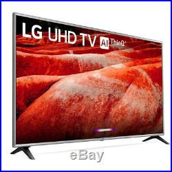 LG 75UM7570PUD 75 4K HDR Smart LED IPS TV with AI ThinQ + Wall Mounting Bundle