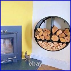 Log store-Log Holder-Wall mounted-Kindling Store-Fireside Furniture-Log basket