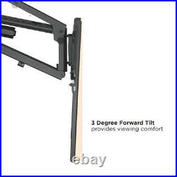 MOTORIZED Pull-Down Full-Motion Above Fireplace Mantel TV Wall Mount 37 to 70