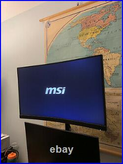 MSI Optix G27C5 27 165 Hz 1 ms Curved Gaming Monitor