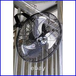 Maxx Air Wall Mount Fan, Commercial Grade for Patio, Garage, Shop, Easy Operati