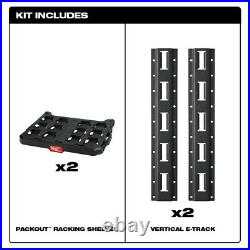 Milwaukee PACKOUT Wall-Mount Storage Racking Kit 48-22-8480 New