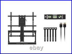 Monoprice Above Fireplace Full-Motion TV Wall Mount VESA Up to 600x500