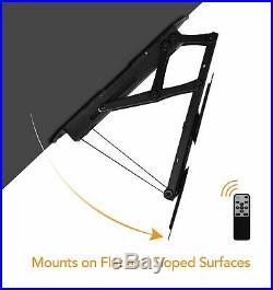 Mount-It! Motorized Ceiling TV Wall Mount Fits 23-55 TVs