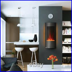 Napoleon 38 Azure Vertical Wall Mount Electric Fireplace