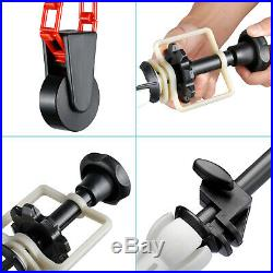 Neewer 4-Roller Wall Mounting Background Support System including Fold Hooks