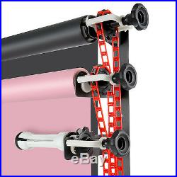 Neewer Photography 4-Roller Wall Mounting Manual Background Support System