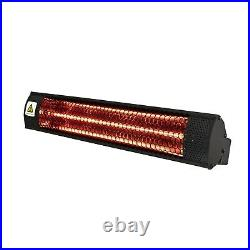 Outdoor Electric Wall Mounted Patio Heater 2kW 48595