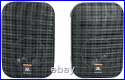 Pair JBL C1PRO Control 1 PRO Black 5.25 Wall Mount Home/Commercial Speakers
