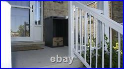 Parcel Drop Box Large Locking Mailbox Secure Package Delivery Steel Locker