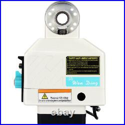 Power Feed X-Axis 135 Lbs Torque for Bridgeport Type Milling Machines 0-210 RPM