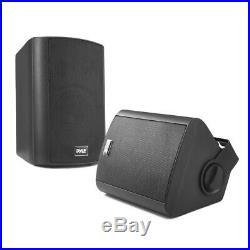 Pyle Audio Wall Mount 5.25 Waterproof Bluetooth Indoor & Outdoor Speaker System