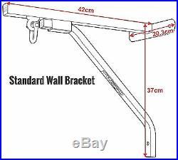 RDX Heavy Duty Boxing Punching Bag 6 Chain Iron Wall Bracket Mount Hanger US
