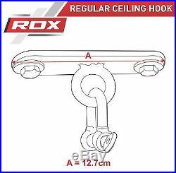 RDX Heavy Punching Bag Ceiling Hook Swivel Boxing Wall Bracket Mount 100kg Gym U