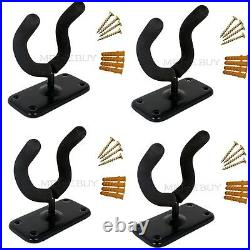 Set of 4 Guitar Wall Mount Hanger Holder Stand Rack Hook for Guitar Ukulele Bass