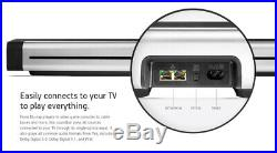 Sonos PLAYBAR Wireless Soundbar, Wall Mount Kit, SUB with 4 ONEs & Wall Mounts