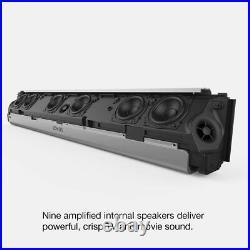 Sonos Playbar Wireless Soundbar with Wall Mount for TV or Music Black
