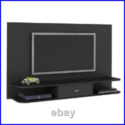 TV Stand Black 55 Floating Wall Mounted Media Console Entertainment Center