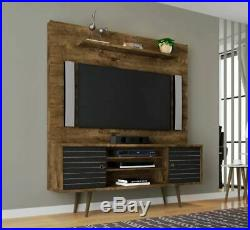 TV Wall Mount Stand for 55 58 60 Inch Universal Entertainment Center Brown Black
