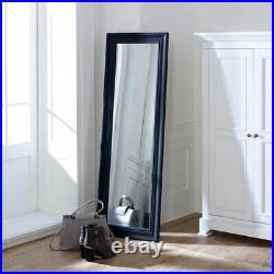 Tall Black Full Length Mirror bathroom bedroom slim wall mounted decor modern