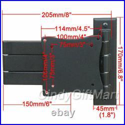 Tilt Swivel LED TV Wall Mount for RCA Sceptre Sansui Sanyo 19 20 23 24 26 28 C30