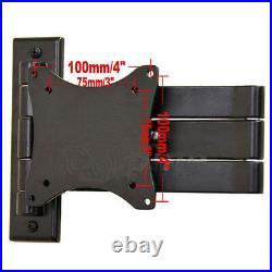 Tilt TV Monitor Wall Mount 19 20 22 24 26 28 29 LCD LED Articulating Bracket MLG